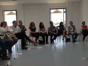 Workshop group in Locri