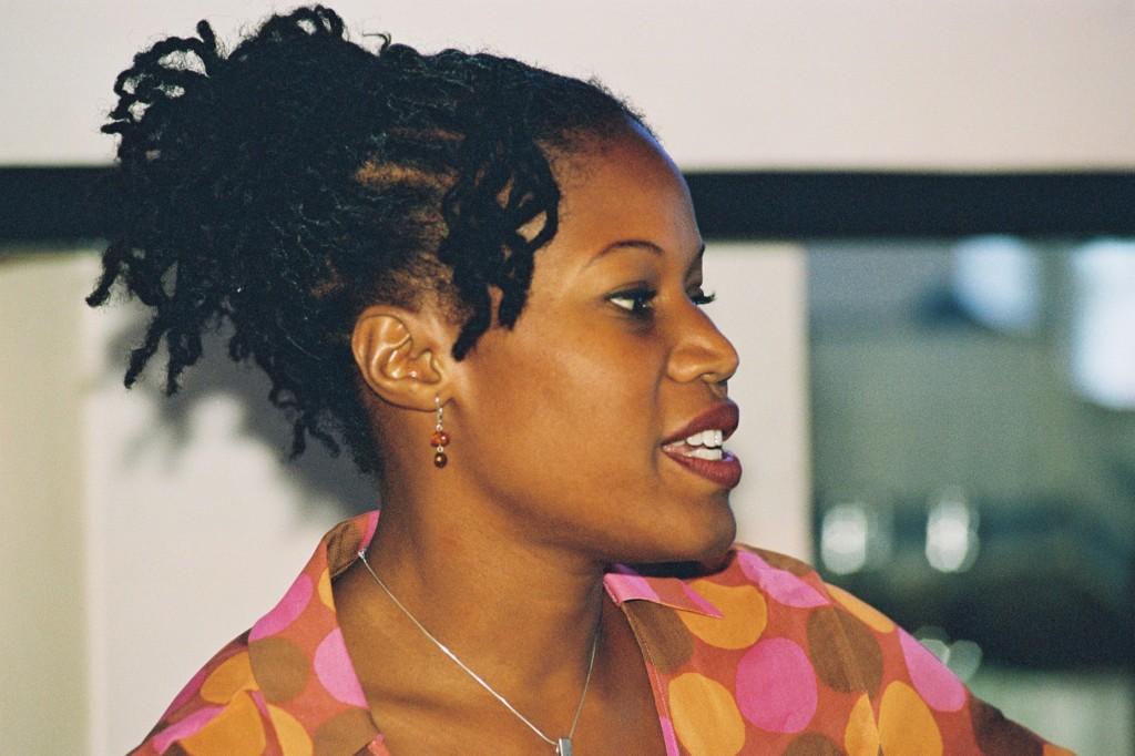 Majora Carter at Westergasfabriek 2003